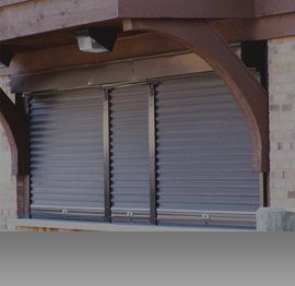 Chicago Commercial rolling shutters in Illinois
