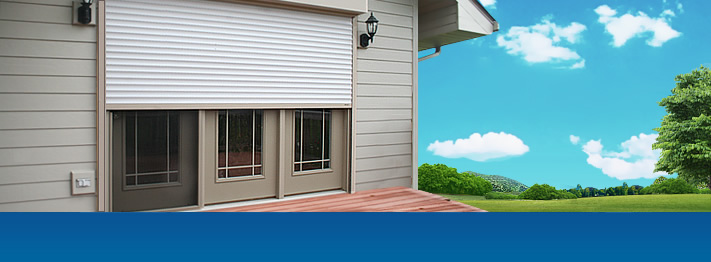 Residential rolling shutter installation and repair in Illinois